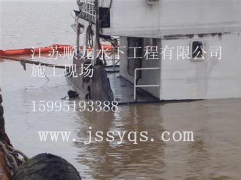 bwin688必赢作业喜讯:上海市水利工程集团的孚宝码头钢管桩探摸工程顺利完工